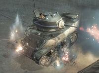 Unit Stuart Light Tank Heavy Combat