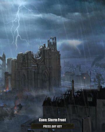 Caen Storm Front Company Of Heroes Wiki Fandom