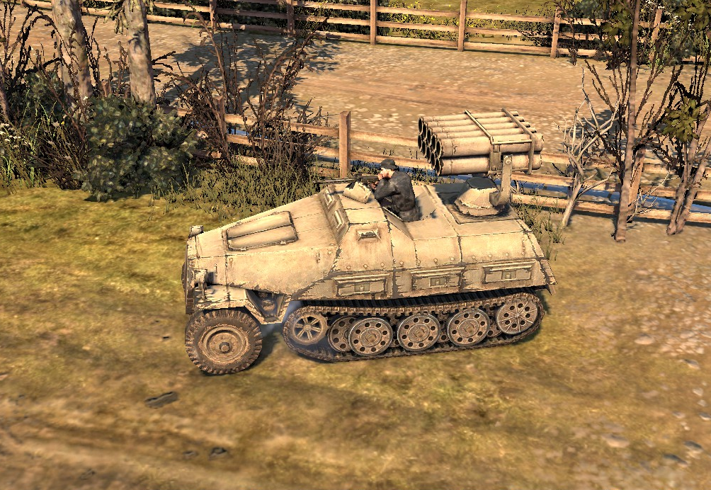 Panzerwerfer 42 Multiple Rocket Launcher   Company of Heroes