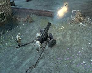Unit M2 105mm Howitzer 0