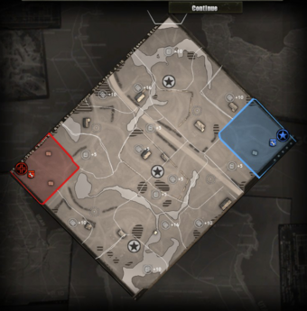 Tactical Maps Company Of Heroes Wiki Fandom