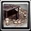 Icons building german bunker