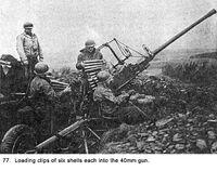 Loading 40mm gun 15 77