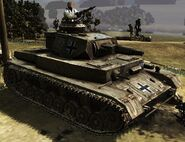 Panzer IV IST with armor