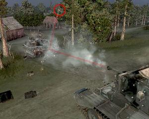 Penetration Cromwell-StuG