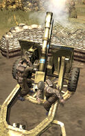 Unit 25 Pounder Gun Howitzer Crew
