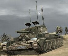 Featured Article Image about A Cromwell Command Tank