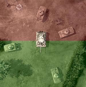 Penetration Tiger-Shermans