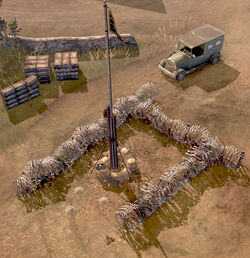 Unit Barbed Wire Outpost
