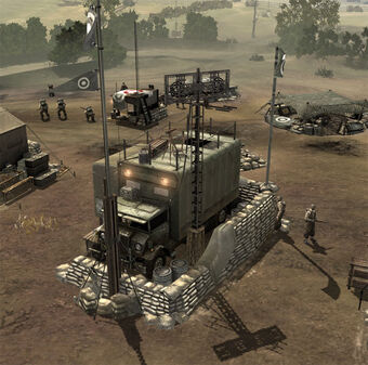 Headquarters Command Truck Company Of Heroes Wiki Fandom
