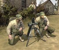 Unit Mortar Team