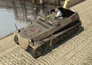 Unit Infantry Halftrack