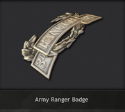 Medal-Army Ranger Badge
