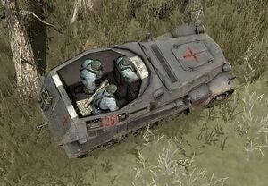 Unit Mortar Halftrack