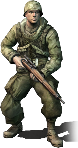 Allied snipers