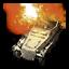 COH 2 Commander Ability Icon - Mortar Half-track
