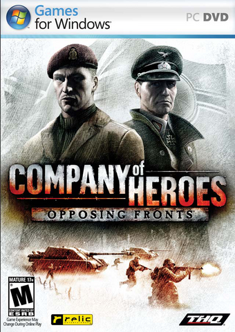 Company Of Heroes Opposing Fronts Company Of Heroes Wiki Fandom