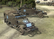 Featured Article Image about An M3 Halftrack and M45 Quadmount