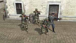 Artillery Field Officer Squad picture COH2 Ostheer