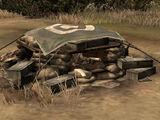 Vickers Machine Gun Emplacement
