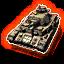 Icons vehicles german panzer iv command tank