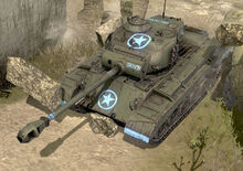 Featured Article Image about A Pershing Tank