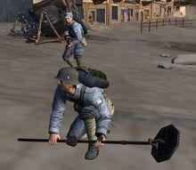 國軍工兵 升級掃雷器