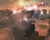 Unit Sherman Calliope Dobule Barrage