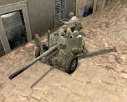 Unit M1 57mm Anti Tank Gun