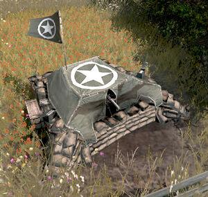 Unit Machine Gun Emplacement