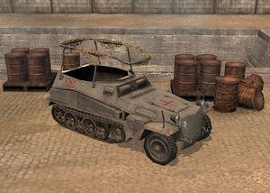 Unit Funkwagen Vampire Halftrack