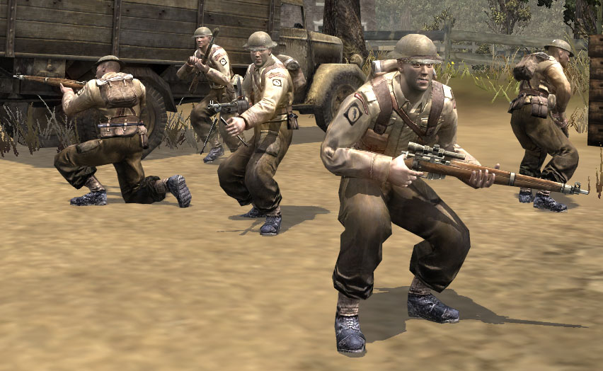 Infantry Section Company Of Heroes Wiki Fandom