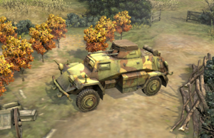 SdKfz 221-222 Scout Car picture COH2 Ostheer