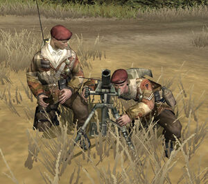 Unit Mortar Commandos