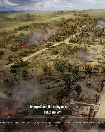 Bourguebus Marching Onward Company Of Heroes Wiki Fandom