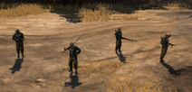 Panzergrenadiers With MP40s And AT Rifles