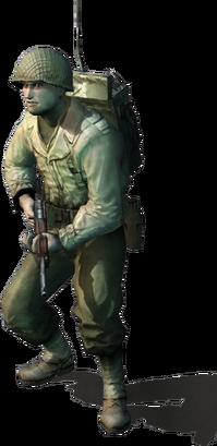 Allied rifleman