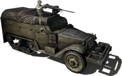 Allied m3 halftrack