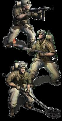 Allies engineers