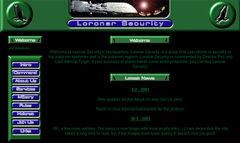 Loronar Security Website