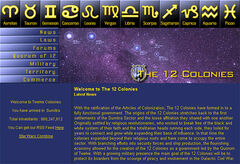 The 12 Colonies Website