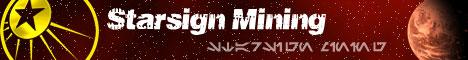 Starsign mining banner