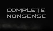 Complete Nonsense