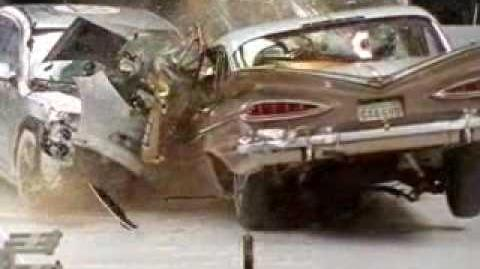 Crash test 1959 Chevy Bel Air