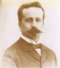 Esteban Azaña Catarinéu (1850-1890) retrato de joven