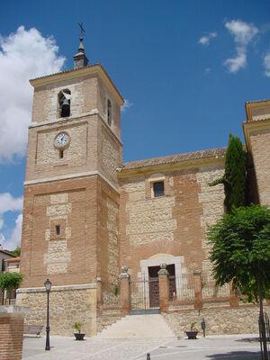 Parroquia de Santos Justo y Pastor en Tielmes