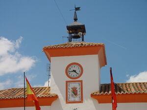 Torre del ayuntamiento en Villamanrique de Tajo