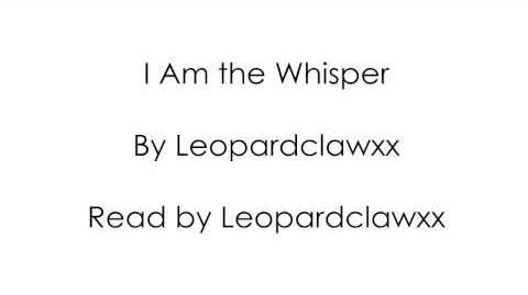 I Am The Whisper (Audio)