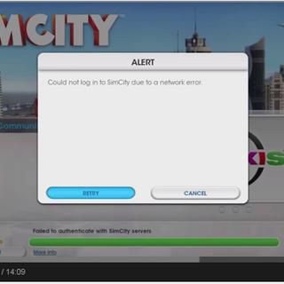 Server Error in SimCity 5
