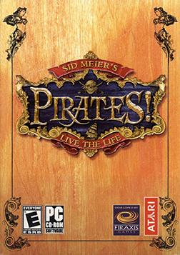 Sid Meier's Pirates! (2004) Coverart
